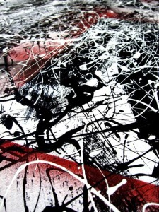 Jackson Pollack painting